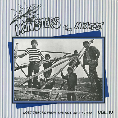 """V/A """"Monsters Of The Midwest"""" Vol. 4 LP"""