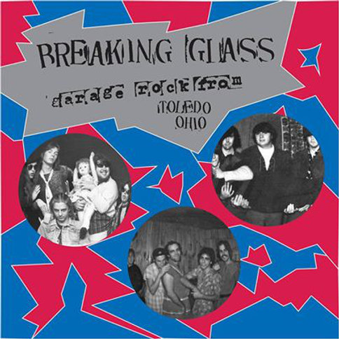 V/A BREAKING GLASS Sixties Garage Rock From Toledo Ohio, LP