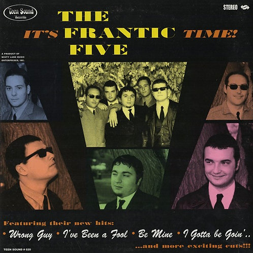 "The FRANTIC V ""It's frantic Time!"" 10"" mini LP (Teen Sound)"