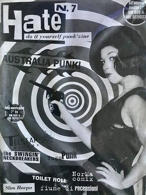 """HATE Fanzine #7 (no 7"""")"""