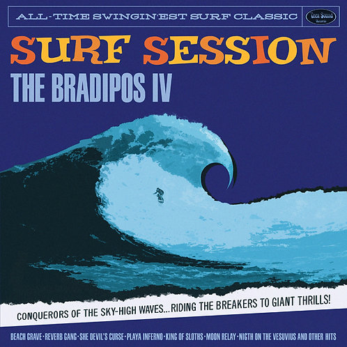 "BRADIPOS IV ""Surf Session"" LP"