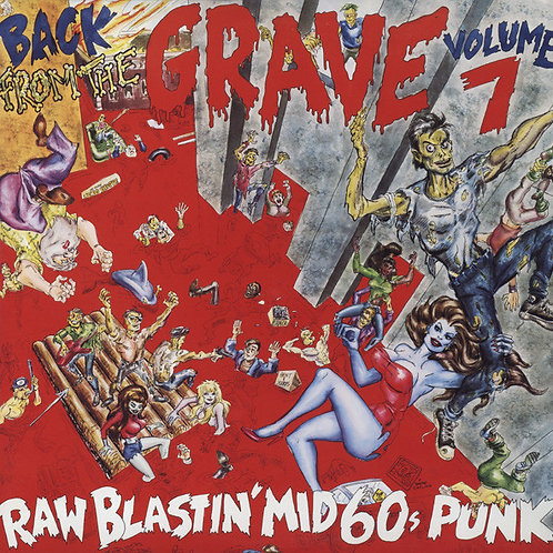 """V/A """"Back From The Grave"""" Vol 7 2xLP (Crypt)"""