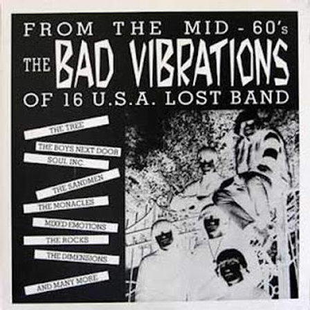 Various–From The Mid-60's The Bad Vibrations Of 16 U.S.A. Lost Band