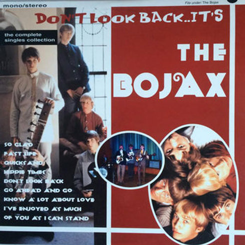 """THE BOJAX """"Don't Look Back Now, it's..."""" 10"""""""