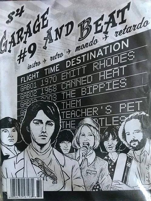 GARAGE & BEAT Fanzine #9