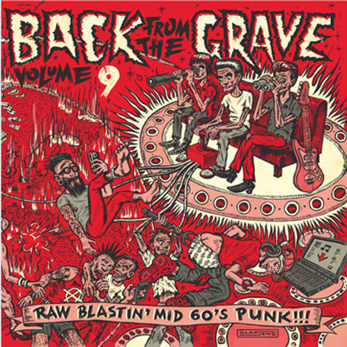 """V/A """"Back From The Grave"""" Vol. 9 (Crypt) LP"""