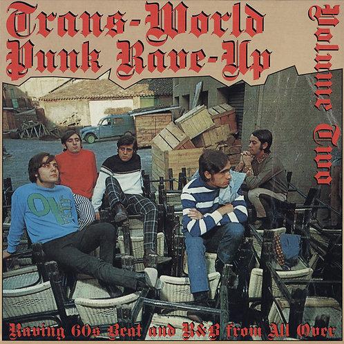 "V/A ""Trans-World Punk Rave-Up"" vol 2 (Crypt) LP"