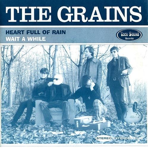The GRAINS –Heart Full Of Rain / Wait A While 45