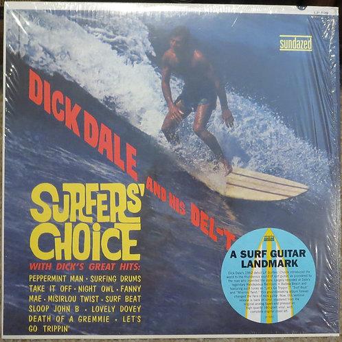 "DICK DALE ""Surfer's Choice"" Sundazed LP"