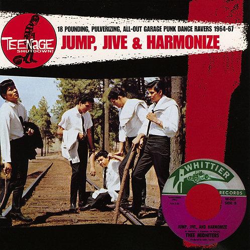"V/A ""Jump, Jive And Harmonize!"" (Teenage Shutdown/Crypt) LP"