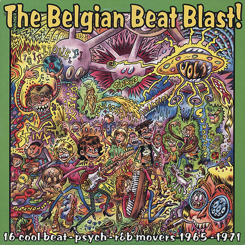 Various–The Belgian Beat Blast! Vol. 1 LP