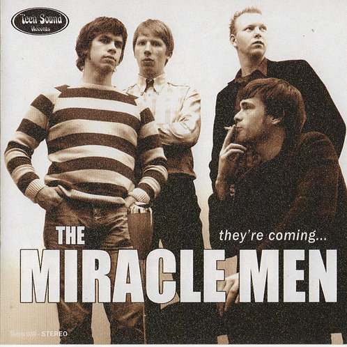 """THE MIRACLE MEN """"They're Coming..."""" (Teen Sound) CD"""