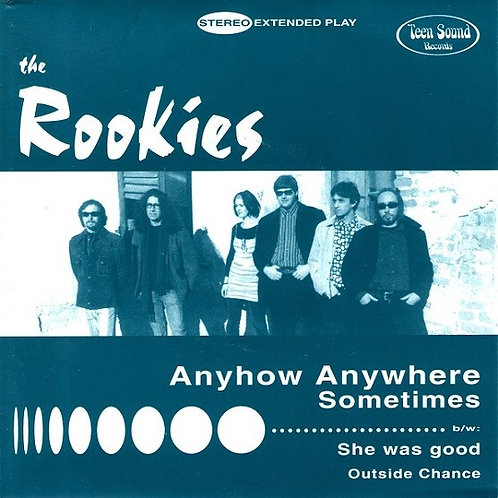"""The ROOKIES –Anyhow Anywhere 7"""" EP"""