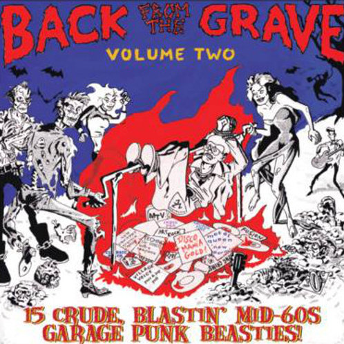 """V/A """"BACK ROM THE GRAVE"""" vol. 2 Crypt LP"""