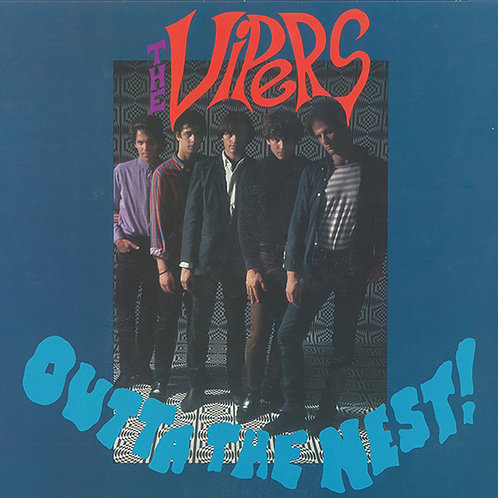 "THE VIPERS ""Outta The Nest!"" LP"