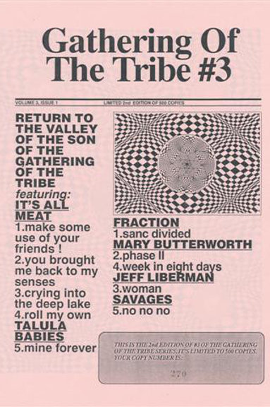 """V/A """"Gathering Of The Tribe"""" #3 LP"""