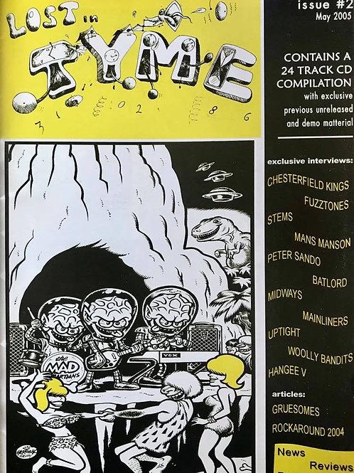 LOST IN TIME Fanzine + CD