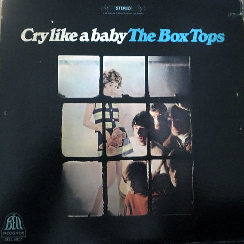 The Box Tops*–Cry Like A Baby LP