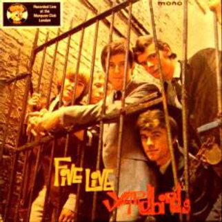 Yardbirds–Five Live Yardbirds LP Charly