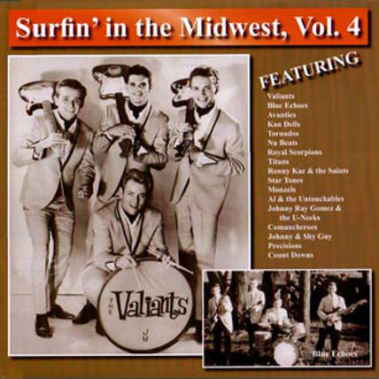 Various–Surfin' In The Midwest, Vol. 4! LP