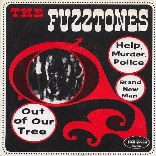 "The FUZZTONES–Help, Murder, Police 7"" EP"