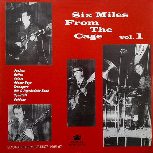 Various–Six Miles From The Cage Vol.1 LP