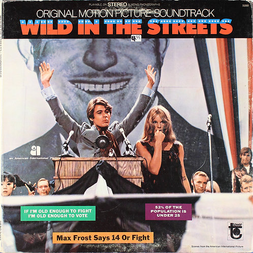 """V/A """"Wild In The Streets"""" LP Tower re"""