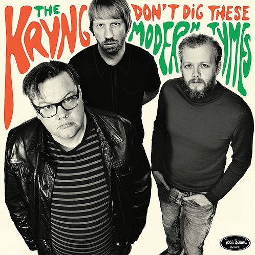 """THE KRYNG  """"Don't dig These Modern Tymes"""" LP"""