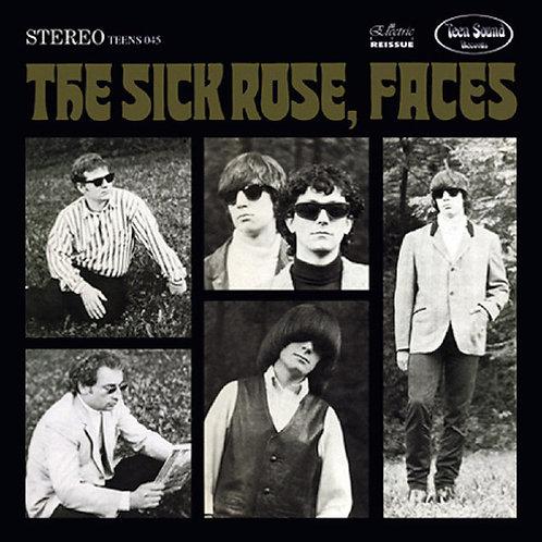"THE SICK ROSE ""Faces"" + GetAlong Girl EP - (TeenSound) CD"