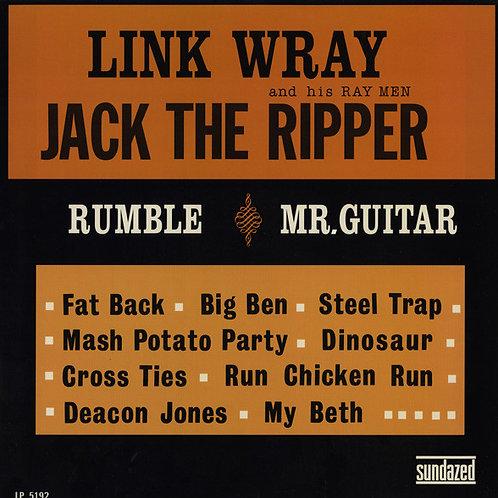 "LINK WRAY ""Jack The Ripper"" LP Sundazed"