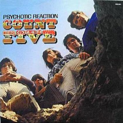 Count Five–Psychotic Reaction LP reissue blue vinyl