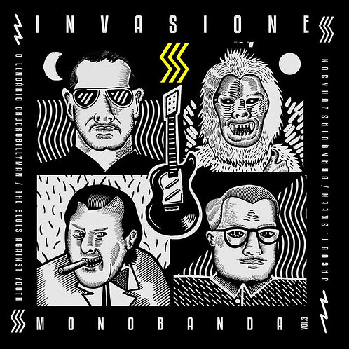 Various–Invasione Monobanda EP Vol 3 EP