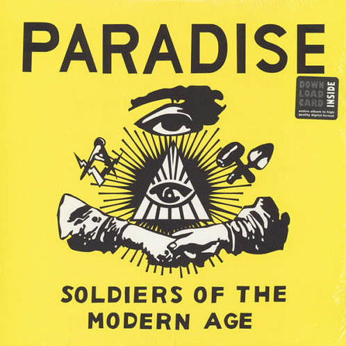Paradise –Soldiers Of The Modern Age LP