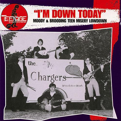 "V/A ""I'm Down Today"" (Teenage Shutdown/Crypt) LP"