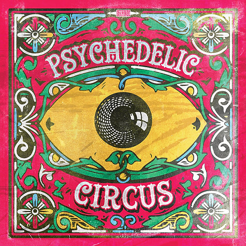 """THE PREACHERS """"Psychedelic Circus"""" 7"""" EP"""