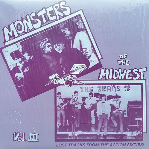 V/A–Monsters Of The Midwest Vol. III (Lost Tracks From The Action Sixties