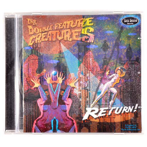The Double Feature Creatures–Return CD
