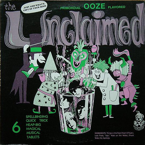 """THE UNCLAIMED """"Primordial Ooze Flavored"""" LP"""