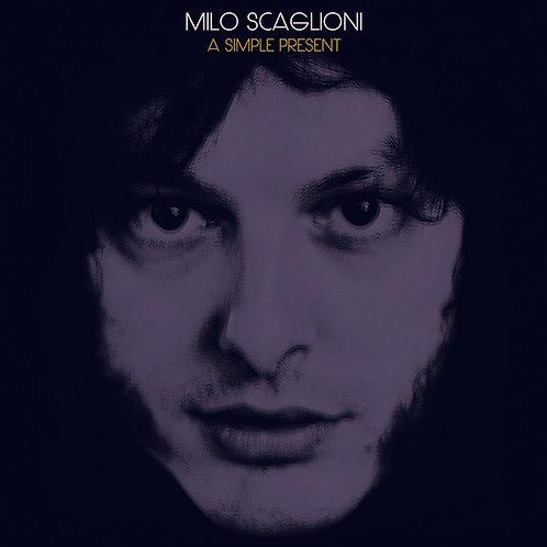 """MILO SCAGLIONI """"A Simple Present"""" LP"""