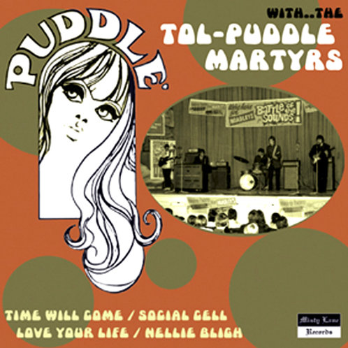 """THE TOL PUDDLE MARTYRS 7"""" EP"""