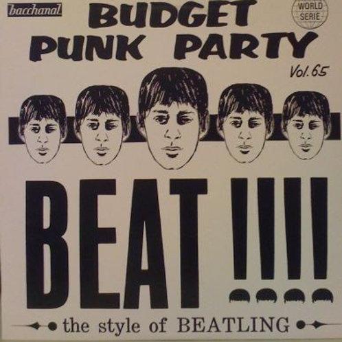 Various–Budget Punk Party Vol. 65 LP