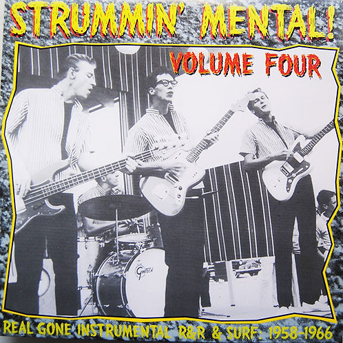 """V/A """"Strummin' Mental!"""" Vol. 4 LP"""