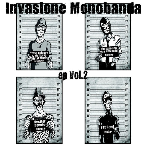 Various–Invasione Monobanda EP Vol. 2 EP