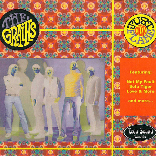 """the GRAINS """"Just Our Flame"""" CD"""