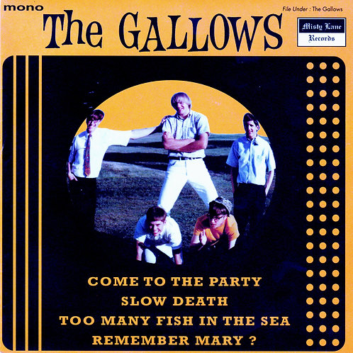 """THE GALLOWS """"Come To The Party"""" 7"""" EP"""