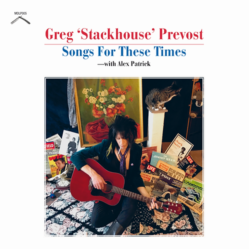 Greg Prevost–Songs For These Times CD