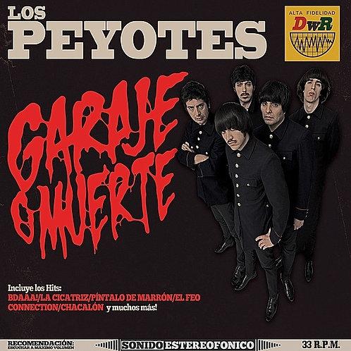 """LOS PEYOTES """"Garageje O Muerte"""" LP Dirty Water"""