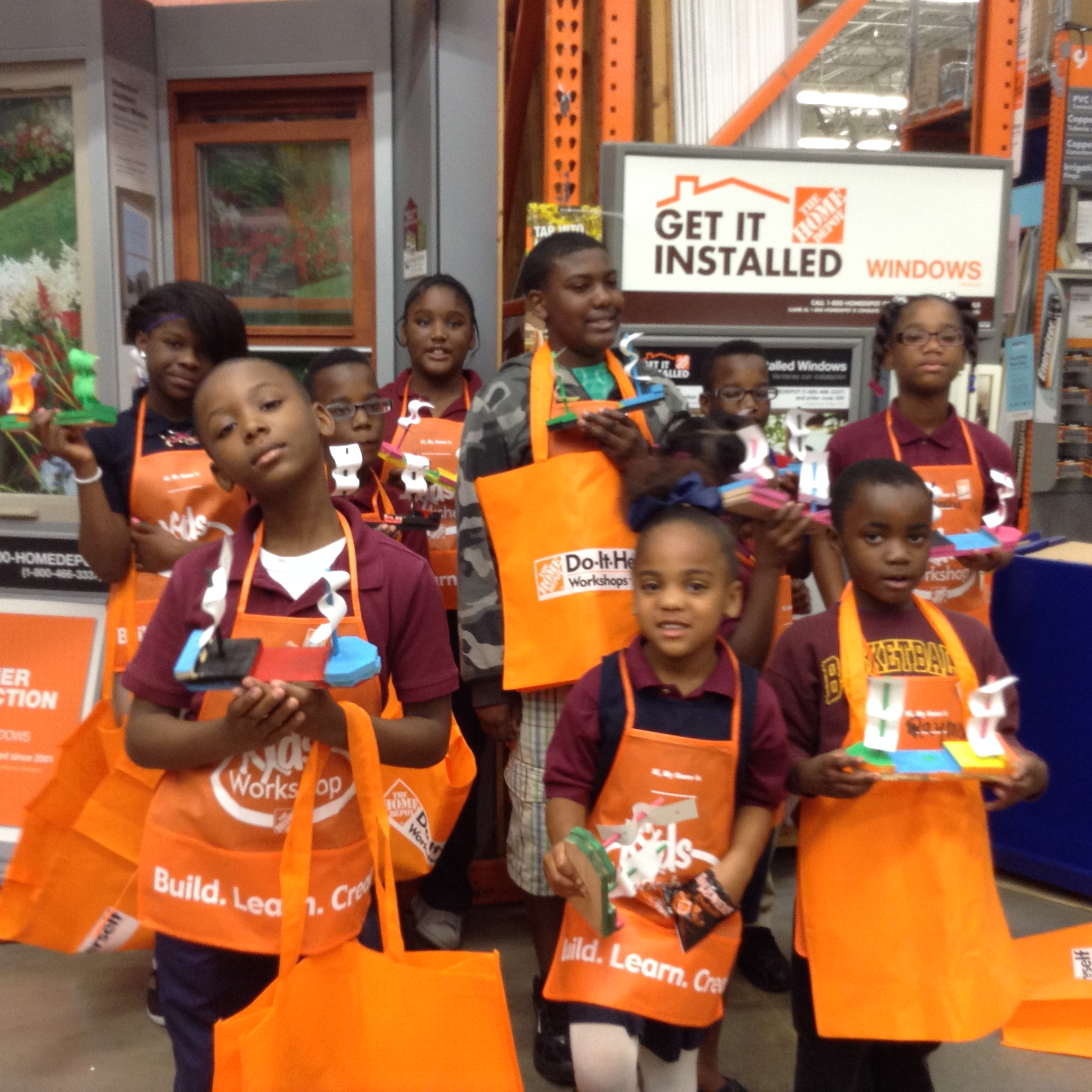 Home Depot Airline