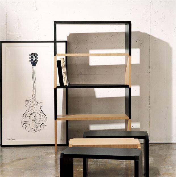 CIBONE stackable stools.