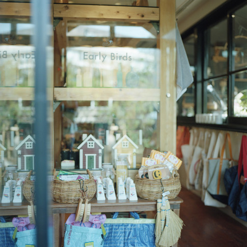 The Early Birds gift boutique.